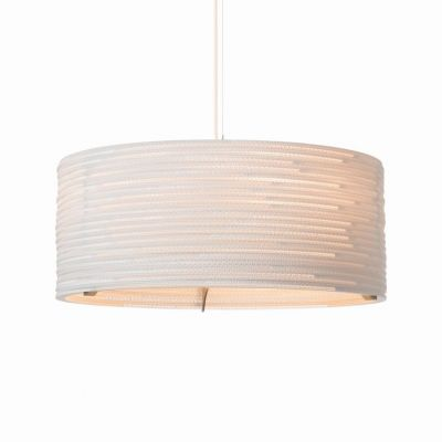Lampa wisząca Graypants GP-1152-a Scraplights Drum24 white
