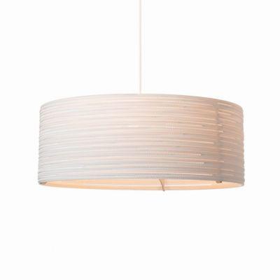 Lampa wisząca Graypants GP-1153-a Scraplights Drum36 white