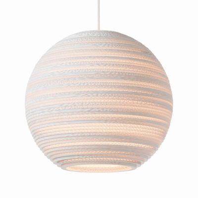 Lampa wisząca Graypants GP-1162-a Scraplights Moon14 white