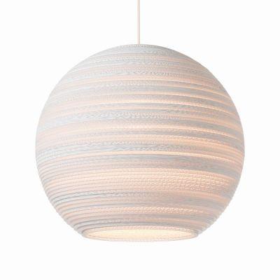 Lampa wisząca Graypants GP-1163-a Scraplights Moon18 white
