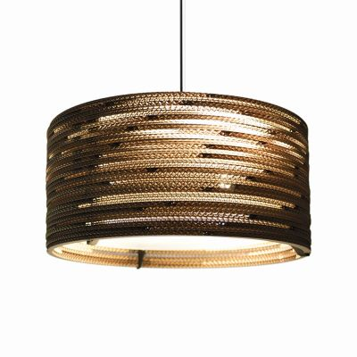 Lampa wisząca Graypants GP-151-a Scraplights Drum18 natural