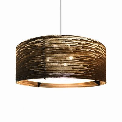 Lampa wisząca Graypants GP-153-a Scraplights Drum36 natural
