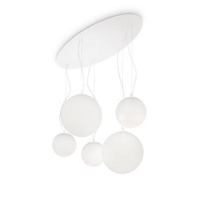 Lampa wisząca Ideal Lux 043562 Mapa Bianco SP5
