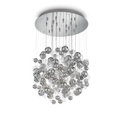 Lampa wisząca Ideal Lux 093024 Bollicine SP14 Cromo