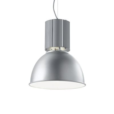 Lampa wisząca Ideal Lux 100326 Hangar SP1 Alluminio