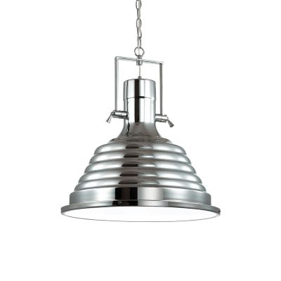 Lampa wisząca Ideal Lux 125824 Fisherman SP1 D48 Cromo