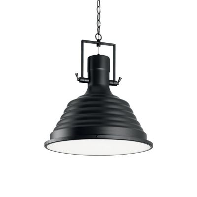 Lampa wisząca Ideal Lux 125831 Fisherman SP1 D48 Nero