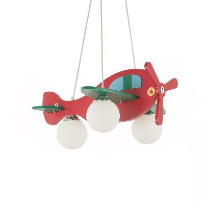 Lampa wisząca Ideal Lux 136318 Avion-2 SP3