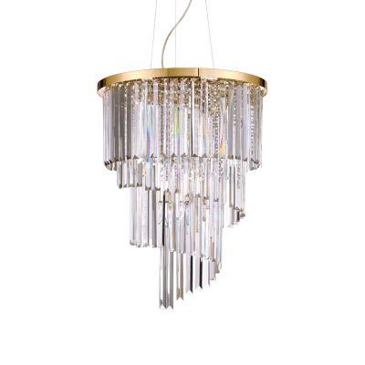 Lampa wisząca Ideal Lux 213521 Carlton SP12 Oro