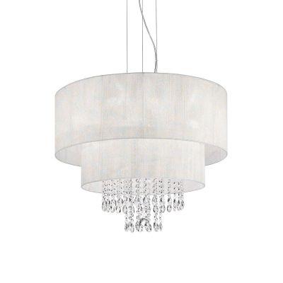 Lampa wisząca IdealLux 182179 Opera SP4 Bianco
