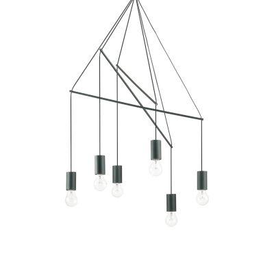 Lampa wisząca IdealLux 158815 Pop SP6 Nero