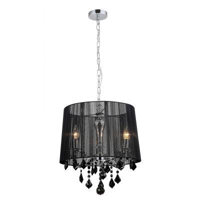 Lampa wisząca Italux MDM-2572-3-BK Cornelia