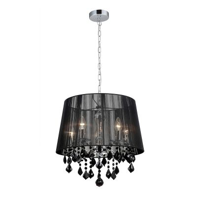Lampa wisząca Italux MDM-2572-5-BK Cornelia