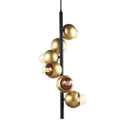 Lampa wisząca Italux PEN-5104-6-BKGD Malmo