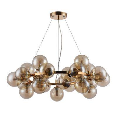 Lampa wisząca Italux PND-5252-25-GD-CGN Cabella