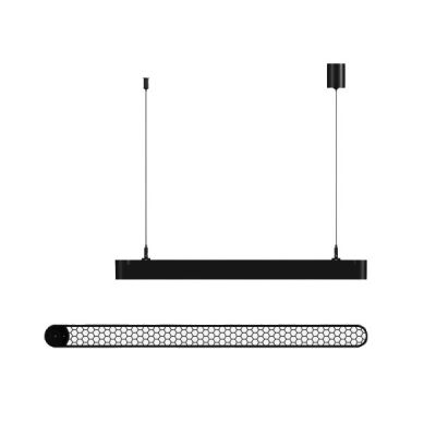 Lampa wisząca LED Abigali Office Linear with honey comb 45*78*1165 26W  4000K