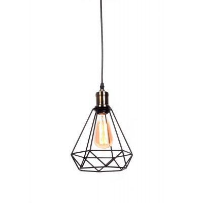 Lampa wisząca Lumina Deco LDP-11609-BK Cobi