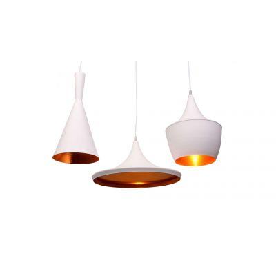Lampa wisząca Lumina Deco LDP-7712-3-PR-WT Foggi Trio