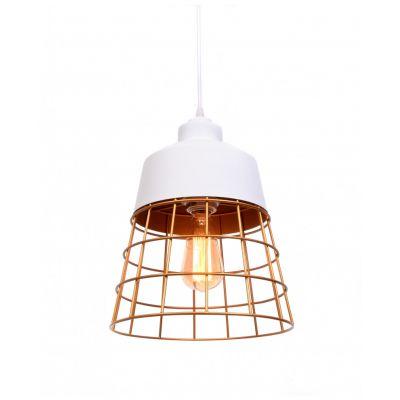 Lampa wisząca Lumina Deco LDP-7933-WT Bagsy