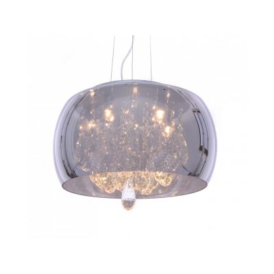 Lampa wisząca Lumina Deco LDP 8066-400 (CHR) Tosso D40