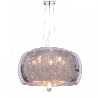 Lampa wisząca Lumina Deco LDP 8066-500 (CHR) Tosso D50