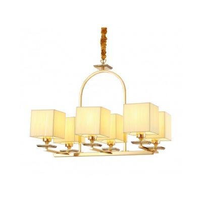 Lampa wisząca Lumina Deco LDW-17100-6-GD Liniano W6