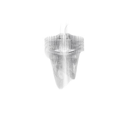 Lampa wisząca Slamp ARI84SOS0002T_000 Aria Transparent Medium