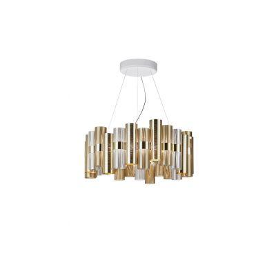Lampa wisząca Slamp LAL87SOS00W3OF000 La Lollo Large Gold