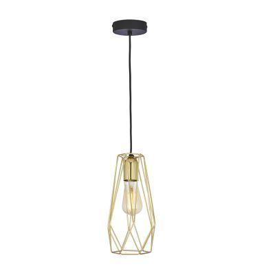 Lampa wisząca TK Lighting 2696 Lugo Gold