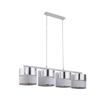 Lampa wisząca TK Lighting 4177 Hilton Silver