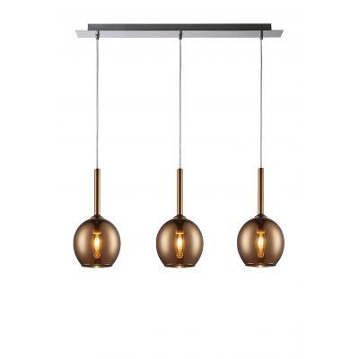 Lampa wisząca Zuma Line Monic MD1629-3A (copper)
