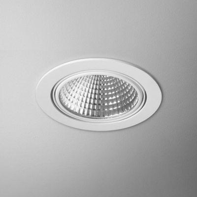 Lampa wpuszczana AQForm LED Eye Hermetic Recessed Biały Struktura