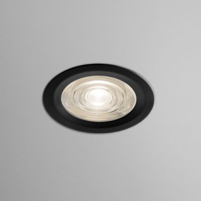 Lampa wpuszczana AQForm Only Round Mini LED 230V Hermetic Recessed Czarny Mat