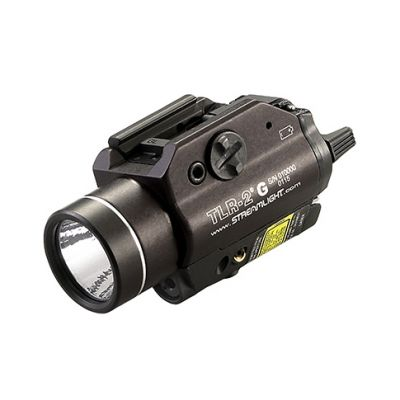 Latarka na broń z laserem Streamlight TLR-2G LED