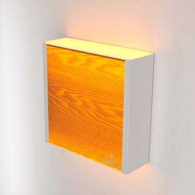 Kinkiet LED Wooden LEVEL Ash Wi-fi Control