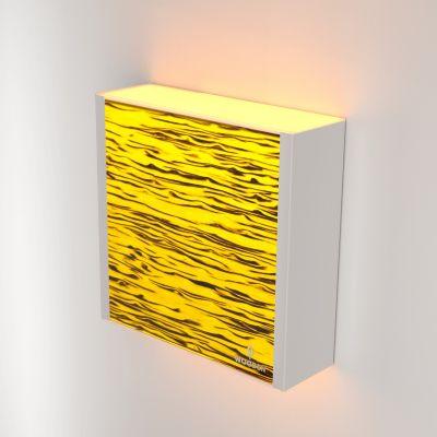 Kinkiet LED Wooden LEVEL Birch Wi-fi Control
