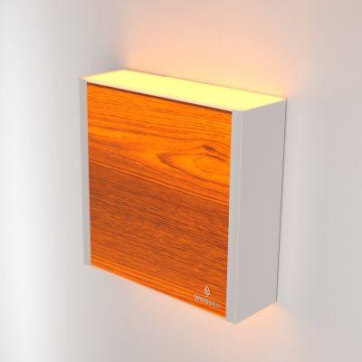 Kinkiet LED Wooden LEVEL Oak Wi-fi Control