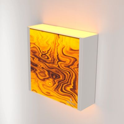 Kinkiet LED Wooden LEVEL Olive Wi-fi Control