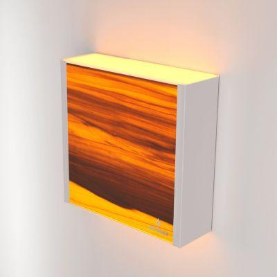 Kinkiet LED Wooden LEVEL Tulip Wi-fi Control