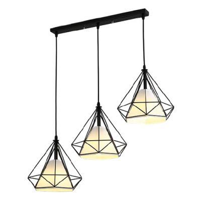 Lampa wisząca Diament Abigali Diamond III L