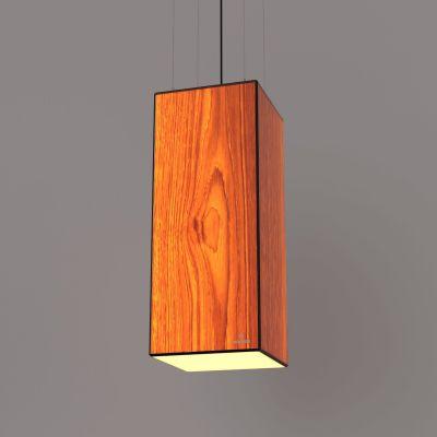 Lampa wisząca LED Wooden TIMBER Oak Wi-fi Control