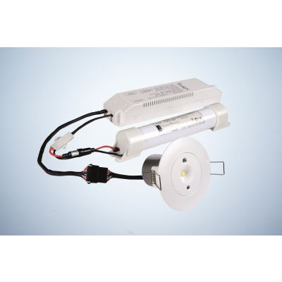Oczko awaryjne Intelight LED Starlet White SO 5W MT CNBOP