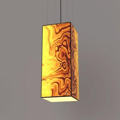 Lampa wisząca LED Wooden TIMBER Olive Wi-fi Control