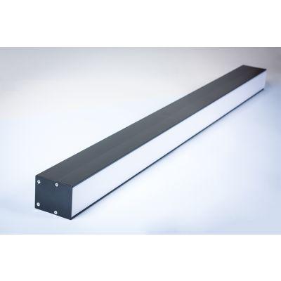 Oprawa liniowa LED Greenie Linea podwieszana 1200mm 40W czarna obudowa