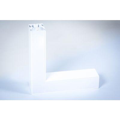 Oprawa liniowa LED Greenie Linea podwieszana - narożnik horyzontalny 20W biała obudowa