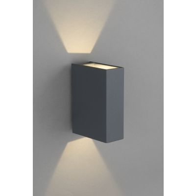 Kinkiet zewnętrzny Nowodvorski DRAS IP54 2x3W LED CREE