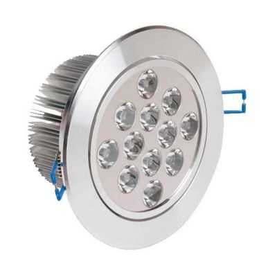 Oprawa sufitowa LED Greenie 12x1 Power LED 12W Ø135mm CW