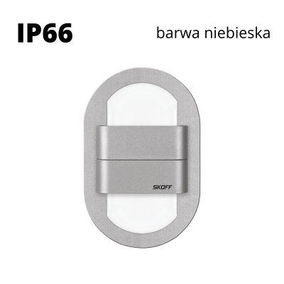 Oprawa schodowa LED Skoff Duo Rueda Alu Niebieska IP66