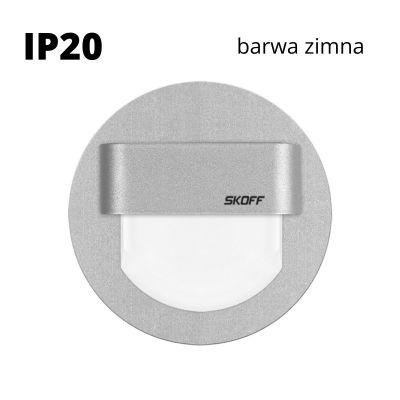 Oprawa schodowa LED Skoff Rueda alu Biała zimna IP20