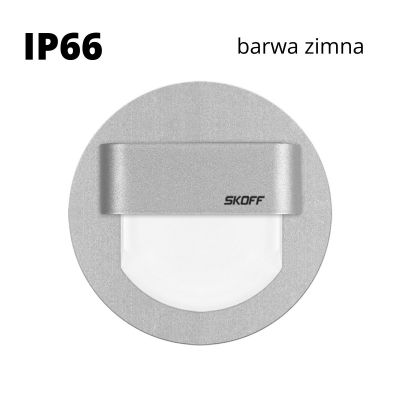 Oprawa schodowa LED Skoff Rueda alu Biała zimna IP66